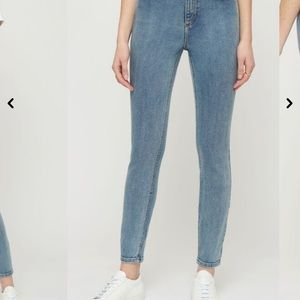 DYNAMITE KATE High Rise Jeans Chilly Blue